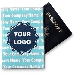 Logo & Company Name Vinyl Passport Holder (Personalized)