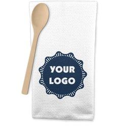 Logo & Company Name Waffle Weave Kitchen Towel (Personalized)