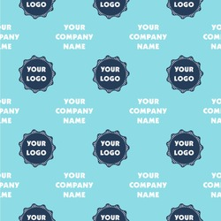 """Logo & Company Name Wallpaper & Surface Covering (Peel & Stick 24""""x 24"""" Sample)"""