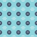 Logo & Company Name Wrapping Paper (Personalized)