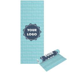 Logo & Company Name Yoga Mat - Printable Front and Back (Personalized)