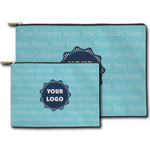 Logo & Company Name Zipper Pouch (Personalized)