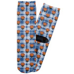 Hipster Dad Adult Crew Socks (Personalized)