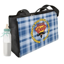Hipster Dad Diaper Bag (Personalized)