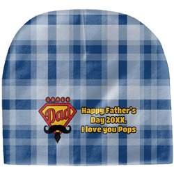 Hipster Dad Baby Hat (Beanie) (Personalized)