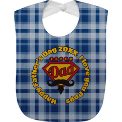 Hipster Dad Baby Bib (Personalized)