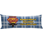 Hipster Dad Body Pillow Case (Personalized)