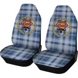 Hipster Dad Car Seat Covers (Set of Two) (Personalized)