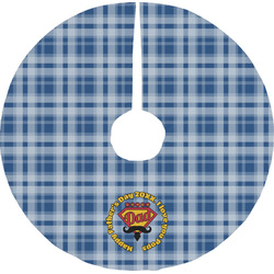 Hipster Dad Tree Skirt (Personalized)