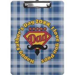 Hipster Dad Clipboard (Personalized)