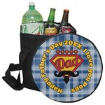 Hipster Dad Collapsible Cooler & Seat (Personalized)
