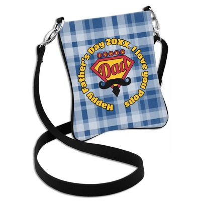 Hipster Dad Cross Body Bag - 2 Sizes (Personalized)