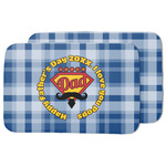 Hipster Dad Dish Drying Mat (Personalized)