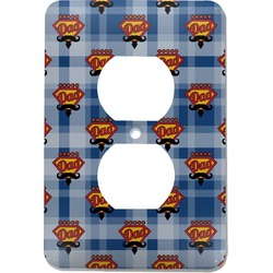 Hipster Dad Electric Outlet Plate (Personalized)