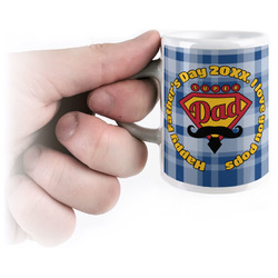 Hipster Dad Espresso Mug - 3 oz (Personalized)