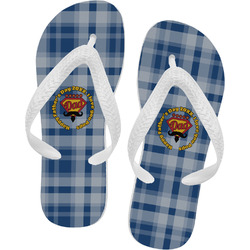 Hipster Dad Flip Flops (Personalized)