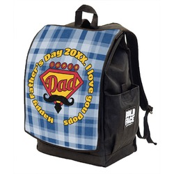 Hipster Dad Backpack w/ Front Flap  (Personalized)