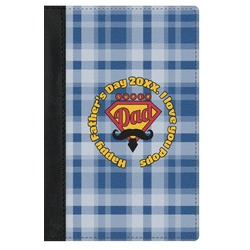Hipster Dad Genuine Leather Passport Cover (Personalized)