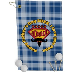 Hipster Dad Golf Towel - Full Print (Personalized)
