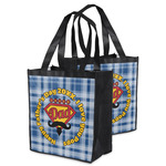 Hipster Dad Grocery Bag (Personalized)