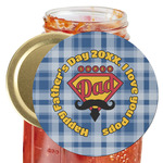 Hipster Dad Jar Opener (Personalized)