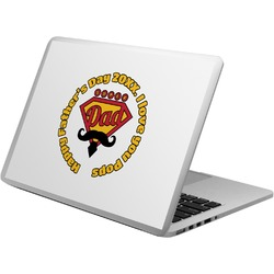 Hipster Dad Laptop Decal (Personalized)