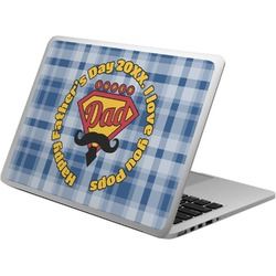 Hipster Dad Laptop Skin - Custom Sized (Personalized)