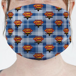 Hipster Dad Face Mask Cover (Personalized)