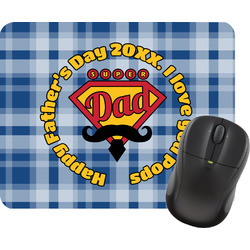 Hipster Dad Mouse Pad (Personalized)