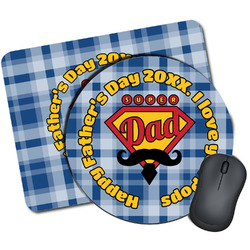 Hipster Dad Mouse Pads (Personalized)