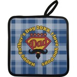 Hipster Dad Pot Holder w/ Name or Text
