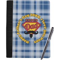 Hipster Dad Notebook Padfolio (Personalized)