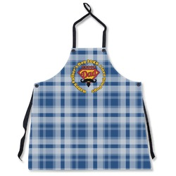Hipster Dad Apron Without Pockets w/ Name or Text