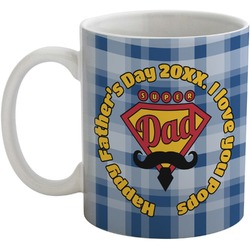 Hipster Dad Coffee Mug (Personalized)