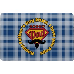 Hipster Dad Comfort Mat (Personalized)