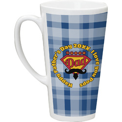Hipster Dad Latte Mug (Personalized)