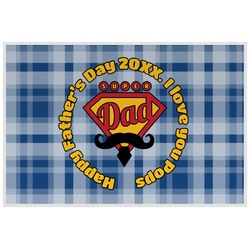 Hipster Dad Placemat (Laminated) (Personalized)