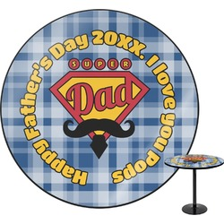 Hipster Dad Round Table (Personalized)