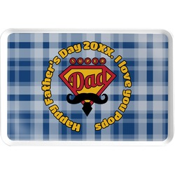 Hipster Dad Serving Tray (Personalized)
