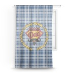 Hipster Dad Sheer Curtains (Personalized)