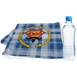 Hipster Dad Sports & Fitness Towel (Personalized)