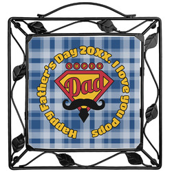 Hipster Dad Trivet (Personalized)