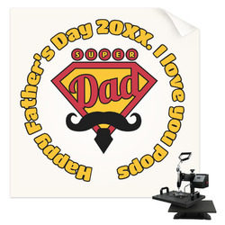 Hipster Dad Sublimation Transfer (Personalized)