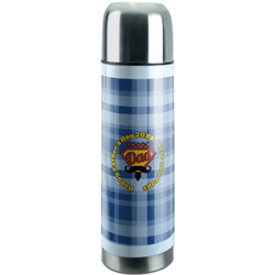 Hipster Dad Stainless Steel Thermos (Personalized)