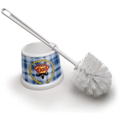 Hipster Dad Toilet Brush (Personalized)