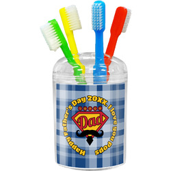 Hipster Dad Toothbrush Holder (Personalized)