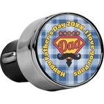 Hipster Dad USB Car Charger (Personalized)