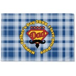 Hipster Dad Woven Mat (Personalized)
