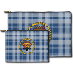 Hipster Dad Zipper Pouch (Personalized)
