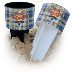 Hipster Dad Beach Spiker Drink Holder (Personalized)